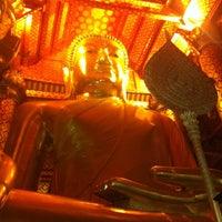 Photo taken at Wat Phananchoeng by Kai P. on 2/19/2013