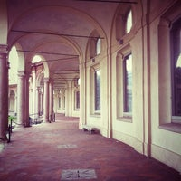 Photo taken at Rotonda della Besana by Marzia m. on 9/30/2012