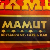 Photo taken at Mamut Restaurant by César Rivera d. on 4/28/2013