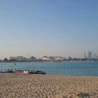 Photo taken at Al Yazwa Public Beach by Ali G. on 2/18/2016