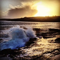 Photo taken at Inchydoney Beach by Murry on 12/26/2012