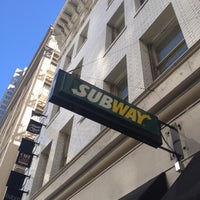 Photo taken at SUBWAY by Jack W. on 10/15/2012