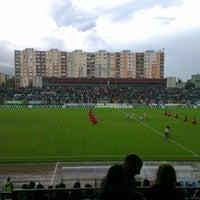 Photo taken at Rohonci úti stadion by Varró N. on 5/18/2014