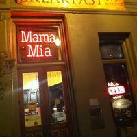 Photo taken at Mama Mia Trattoria by Chris 😈 P. on 2/25/2013