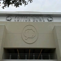 Photo taken at Cotton Bowl by Charles M. on 10/13/2012