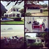 Photo taken at Brassiere Beach Resort by Candi P. on 10/27/2013