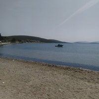 Photo taken at Akkum Liman, Ozbek Koyu by Ceren G. on 4/7/2016