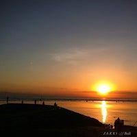 Photo taken at Pantai Segara Ayu by jakki ⚡ y. on 4/29/2013