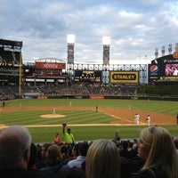Photo taken at Guaranteed Rate Field by Lindsey T. on 5/23/2013