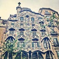 Photo taken at Casa Batlló by Lorena P. on 5/8/2013