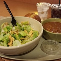 Photo taken at Panera Bread by Akos A. on 1/24/2014