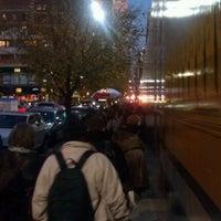 Photo taken at Megabus Bus Stop by Brad K. on 12/11/2011