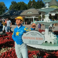 Photo taken at Saratoga Race Course by Marc R. on 8/24/2013