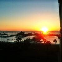 Photo taken at Corpus Christi Bay by Hope B. on 3/3/2013