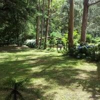 Photo taken at Horto Florestal de Campos do Jordão by Rafaela U. on 2/2/2013