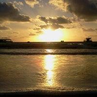 Photo taken at Praia de Tambaú by Thiago S. on 11/10/2012