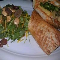 Photo taken at Blue Sage Vegetarian Grille by Sarah L. on 12/21/2012