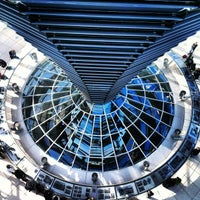 Photo taken at Reichstag Dome by Lionel on 10/16/2012