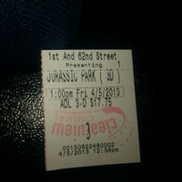 Photo taken at First and 62nd Clearview Cinemas by ashleigh on 4/5/2013