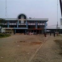 Photo taken at Stasiun Depok Baru by Imam K. on 8/5/2013