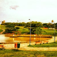Photo taken at Parque Germânia by Paulo M. on 10/30/2012