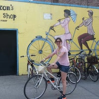 Photo taken at Dixon's Bike Shop by Marco O. on 5/29/2013