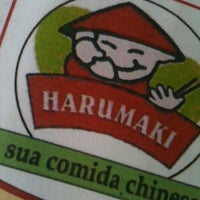Photo taken at Restaurante Harumaki by Jeferson P. on 4/7/2013
