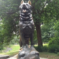 Photo taken at Balto Statue by Sissy S. on 7/25/2013