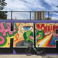 Photo taken at Graffiti Hall Of Fame by Becca S. on 7/24/2016
