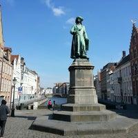 Photo taken at Jan Van Eyck Plein by Boris M. on 4/1/2013