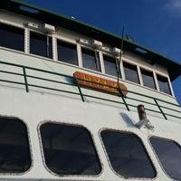 Photo taken at M/V Hyak (Washington State Ferry) by Casey M. on 8/9/2014