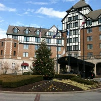 Photo taken at The Hotel Roanoke & Conference Center - Curio - A Collection by Hilton by Tammy N. on 12/9/2012