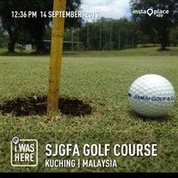 Photo taken at Sarawak Junior Golf Foundation & Academy (SJGFA) by amet a. on 9/14/2013