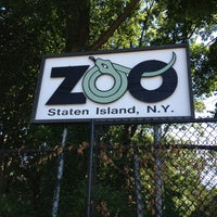 Photo taken at Staten Island Zoo by Laura S. on 8/4/2013