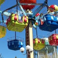 Photo taken at Adventureland Amusement Park by Eric on 4/6/2013