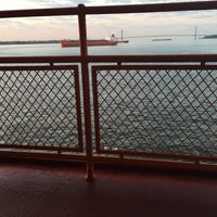Photo taken at Staten Island Ferry Boat - John J. Marchi by Maryna B. on 6/20/2016