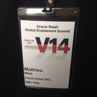 Photo taken at Oracle Conference Center by Mathieu M. on 3/17/2014