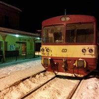 Photo taken at Železniční stanice Semily by Jenda Š. on 12/7/2012