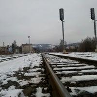 Photo taken at Železniční stanice Semily by Jenda Š. on 12/21/2012