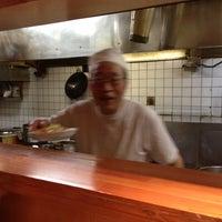 Photo taken at 上海厨房 福島 Futou by Ryo I. on 7/1/2013
