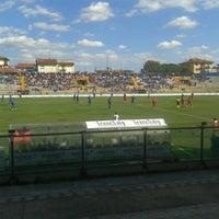Photo taken at Arena Garibaldi - Stadio Romeo Anconetani by Francesco F. on 9/16/2012
