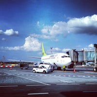 Photo taken at Riga International Airport (RIX) by Kathy S. on 5/16/2013