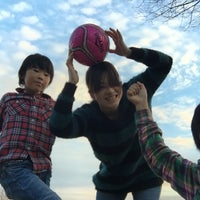 Photo taken at 美薗中央公園 by A Y. on 1/3/2016