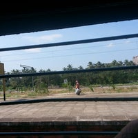 Photo taken at Thrissur Railway Station by Semin E. on 12/6/2012