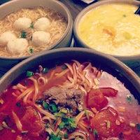 Photo taken at Noodle Village 粥麵軒 by Fanny L. on 1/3/2013