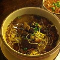 Photo taken at Noodle Village 粥麵軒 by Fanny L. on 9/17/2012