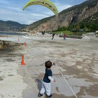 Photo taken at Escape Paragliding Landing Area by hasan g. on 10/25/2012
