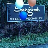 Photo taken at Sangkot The Garden Wedding Place by Intan S. on 12/1/2012