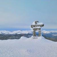 Photo taken at Whistler Mtn. Peak by Macoto I. on 3/19/2013