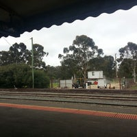 Photo taken at Swan Hill Train Station by Yana H. on 8/24/2013